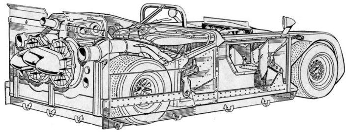 Chaparral Model 2J
