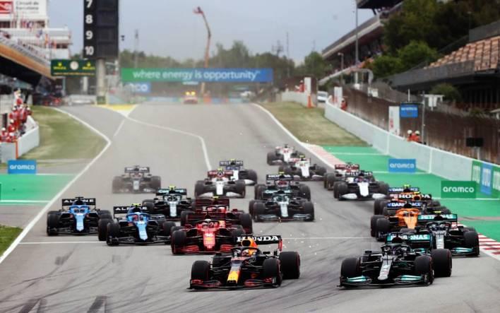 Start of the Spanish GP 2021