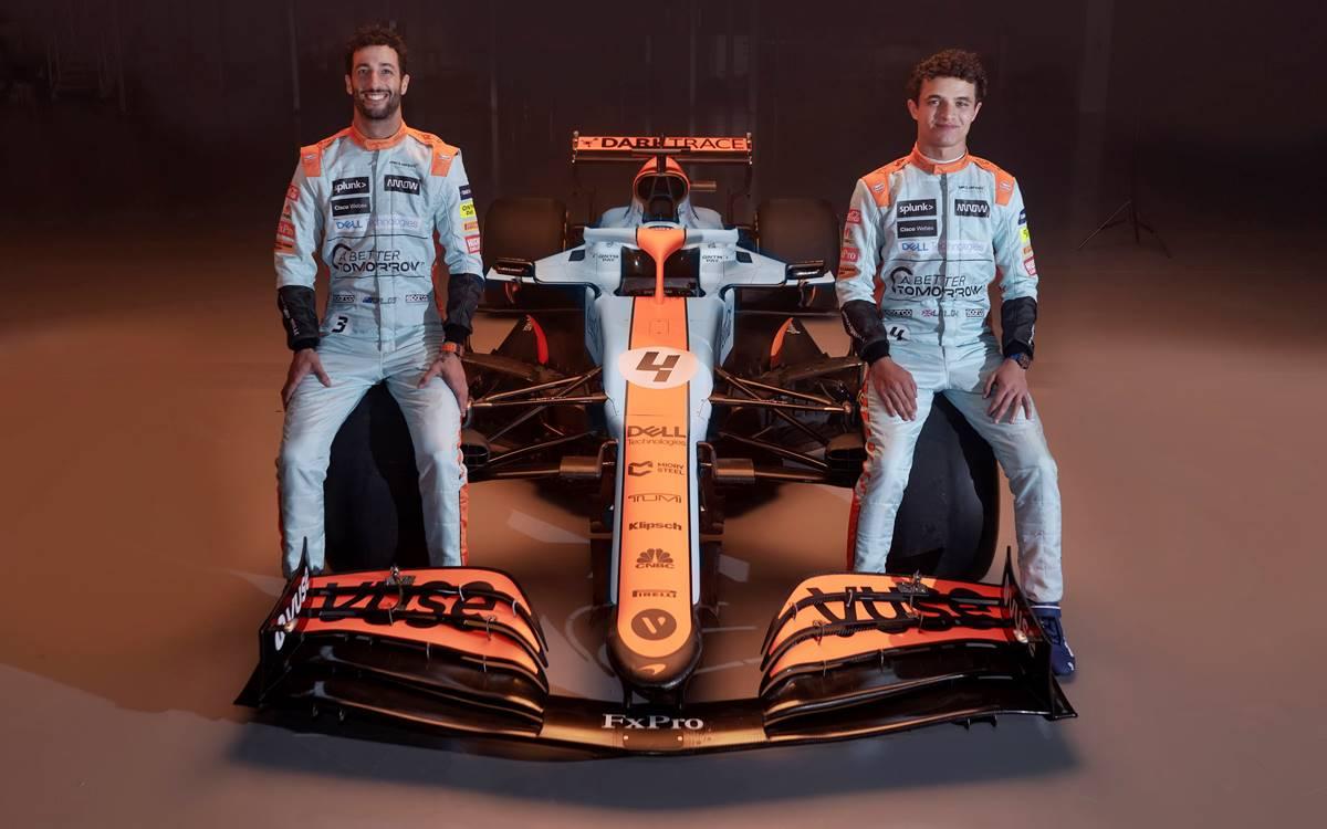McLaren Gulf 2021