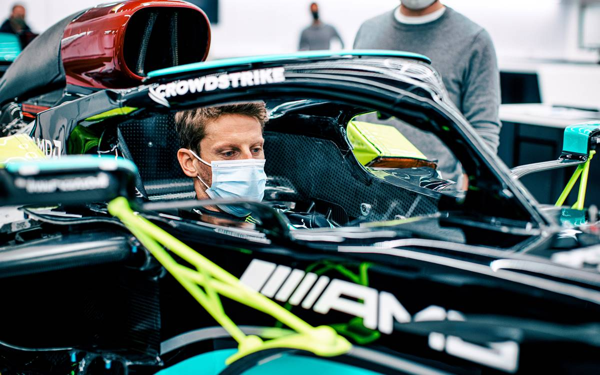 Romain Grosjean Test Announcement