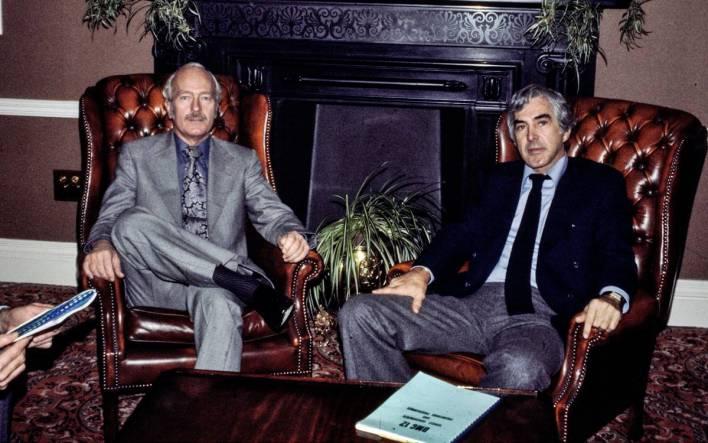 Colin Chapman and John DeLorean