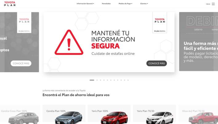 Toyota Plan