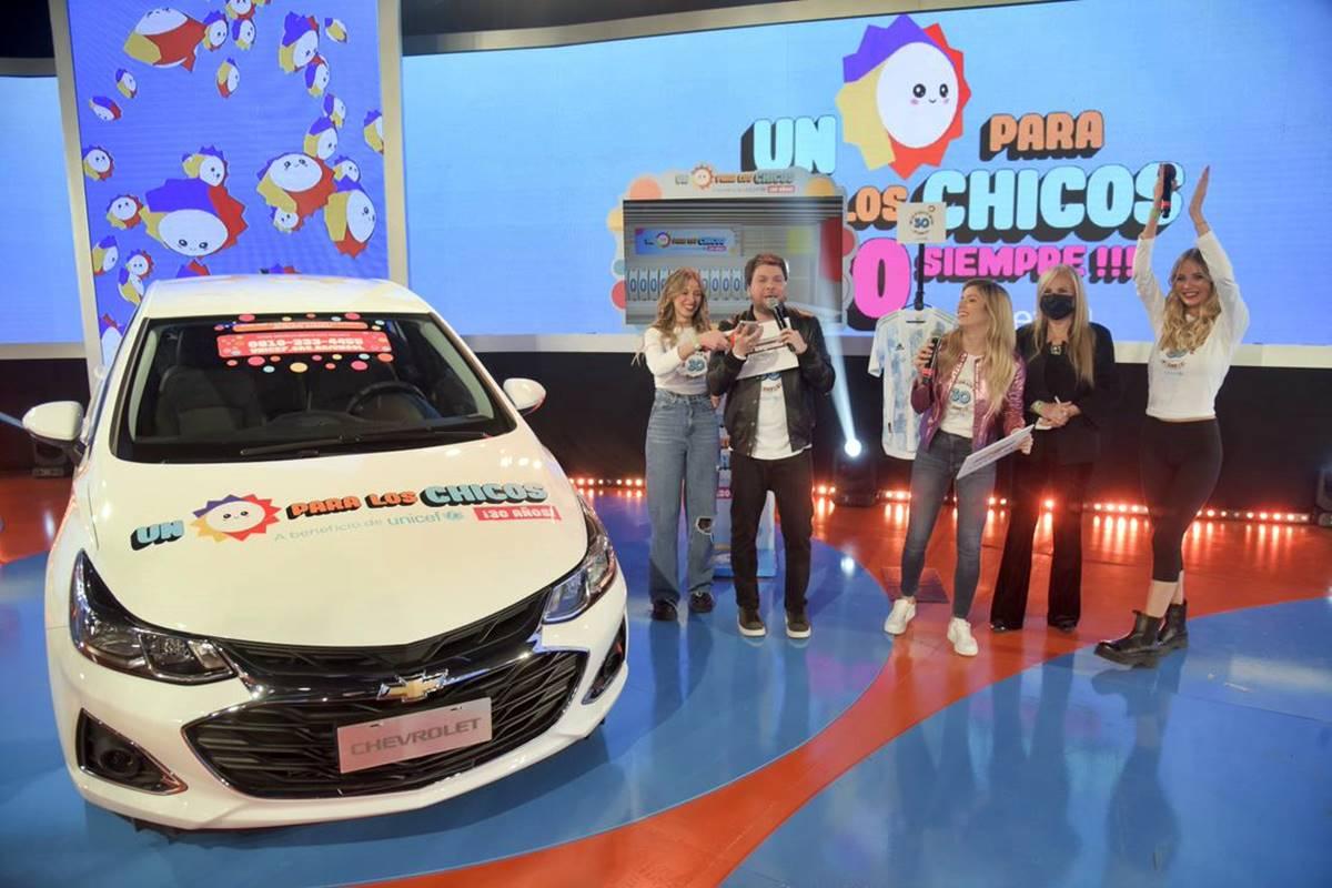 "Chevrolet participated in the Unicef Argentina event ""Un Sol para los Chicos"""