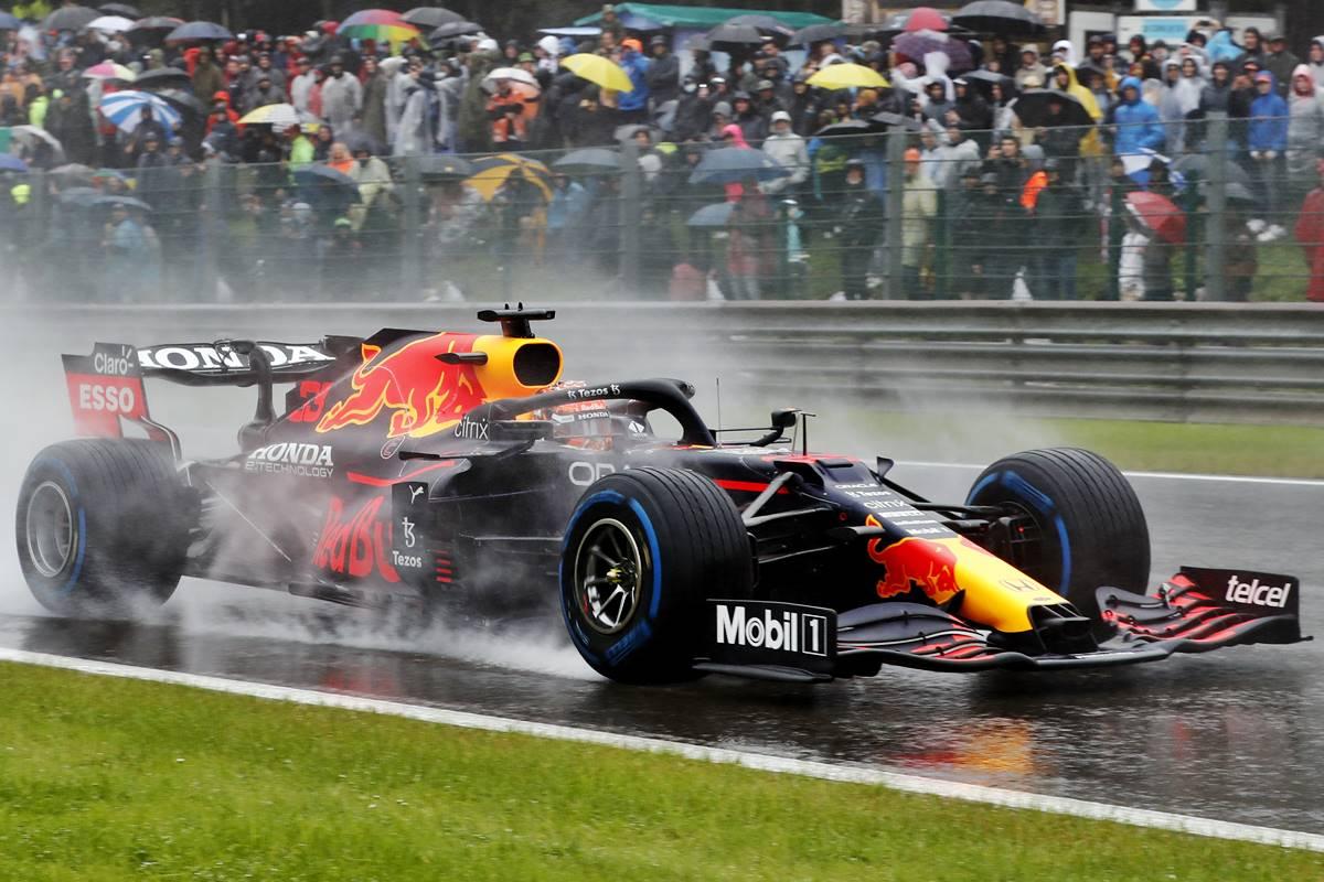 Formula 1 rain