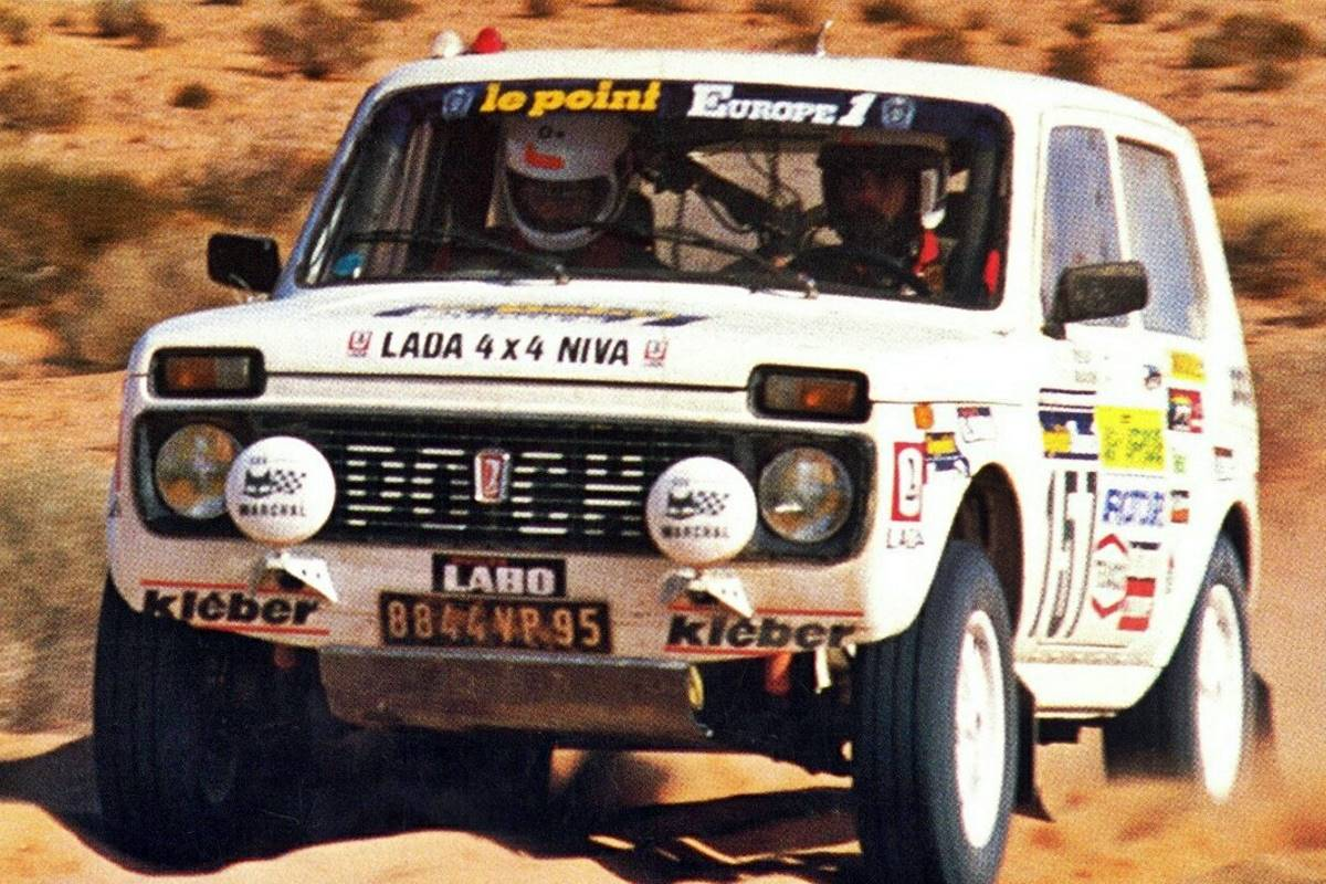 Lada Niva Dakar