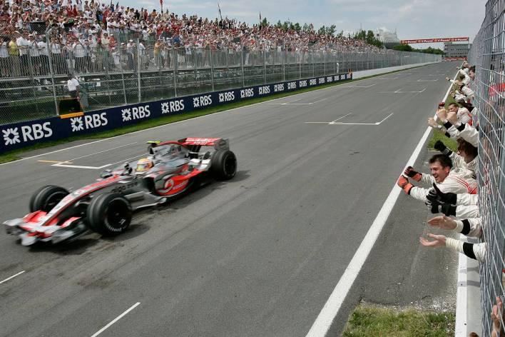 Lewis Hamilton Canadian GP 2007
