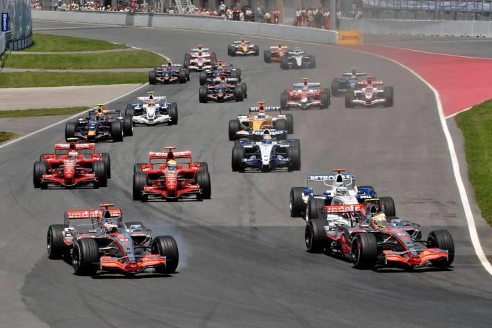Lewis Hamilton GP Canada 2007