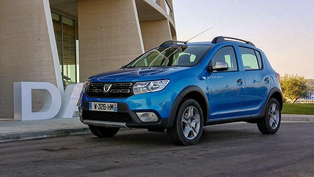 Dacia – nova paleta modela