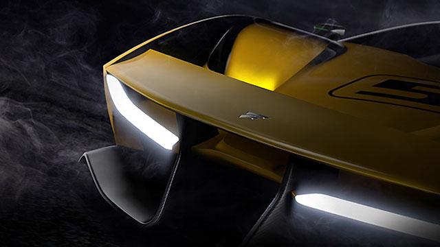 Fittipaldi EF7: 600 KS te karbonska šasija i karoserija