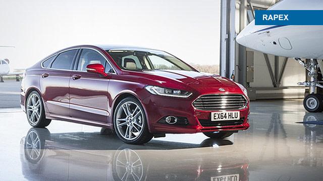 Opoziv Forda Mondeo zbog problema sa sigurnosnim pojasevima