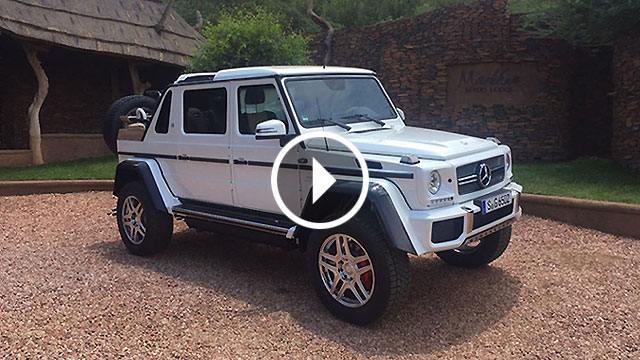 Mercedes-Maybach G650 Landaulet – prvi Maybach SUV