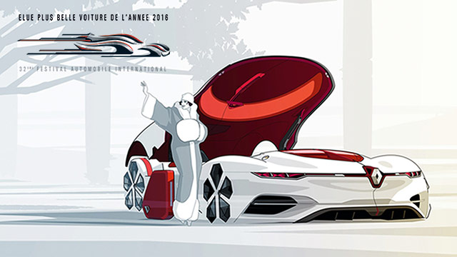 Renault Trezor izabran za najljepši konceptni automobil 2016.