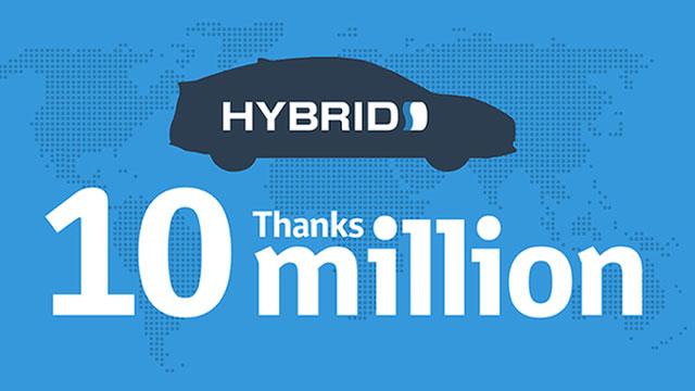 Toyota je prodala preko 10 milijuna hibridnih vozila