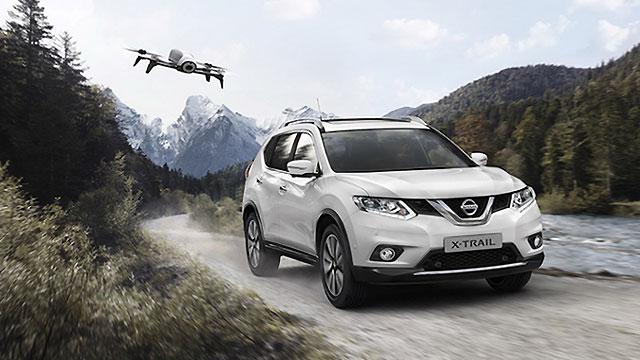 Nissan X-Trail X-Scape Edition s vlastitim dronom