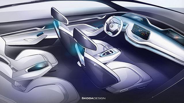 Škoda Vision E s rotirajućim sjedalima