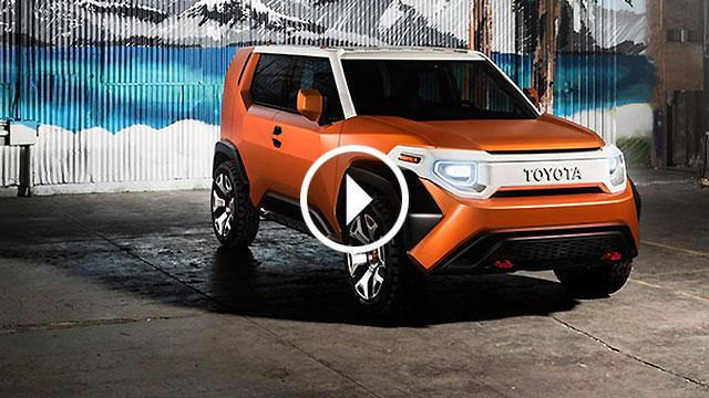 Toyota predstavila konceptni FT-4X