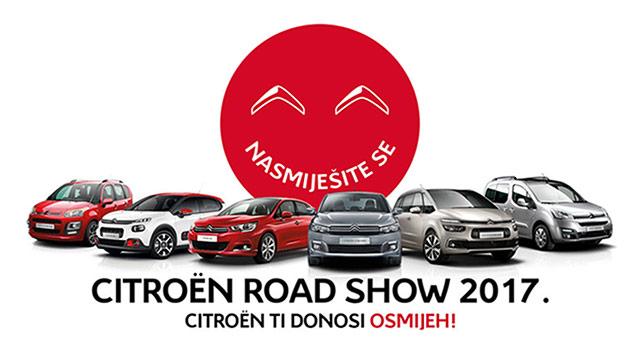 Citroënov Road Show u Rijeci, Varaždinu i Zagrebu