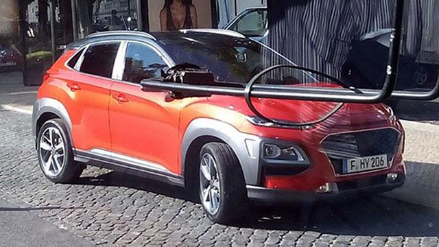 Hyundai Kona – prve fotografije novog malog crossovera