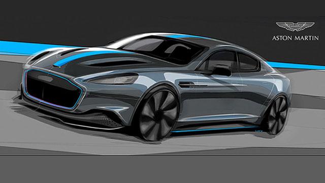 Električni Aston Martin RapidE stiže 2019.
