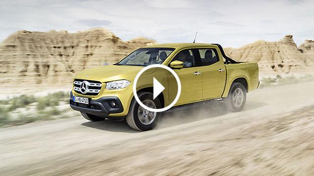 X klasa – Mercedes-Benz predstavio pickup