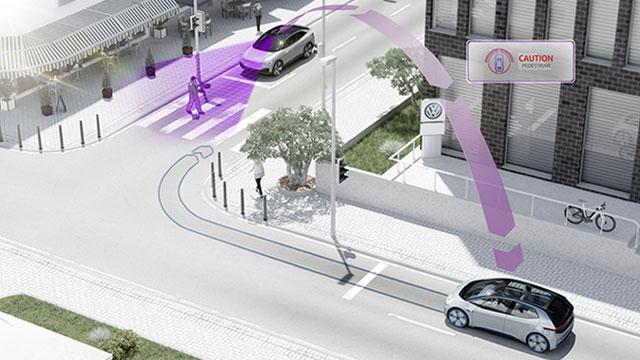 Volkswagen od 2019. počinje sa serijskom ugradnjom sustava V2V i V2I