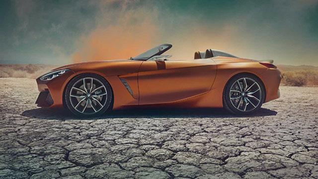 Prve fotografije konceptnog modela BMW Z4