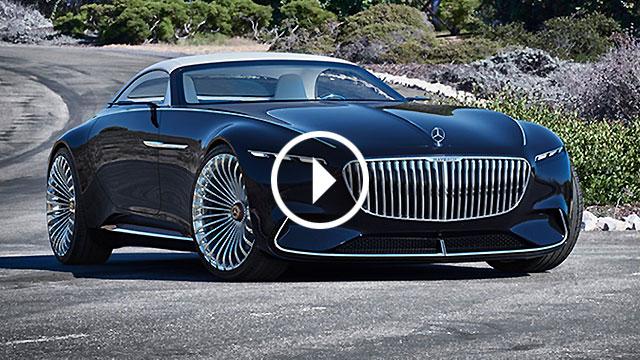 Mercedes-Maybach Vision 6 Cabriolet – jednostavno savršenstvo!