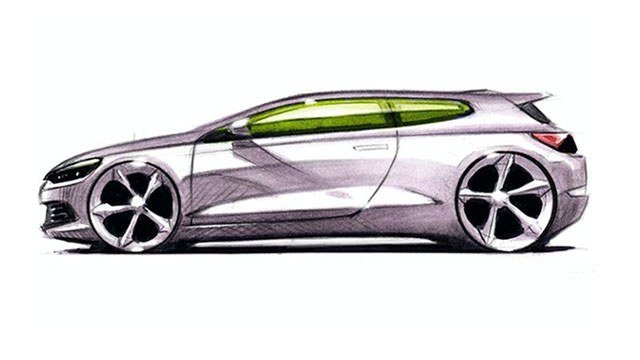 Volkswagen Scirocco bi mogao postati električni sportski coupe
