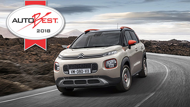 Citroën C3 Aircross osvojio priznanje Autobest 2018.