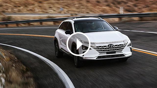 Hyundai Nexo FCV – 600 km s vodikom