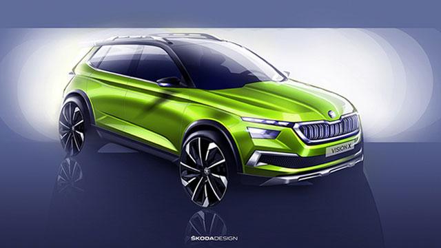 Škoda Vision X – koncept novog crossovera