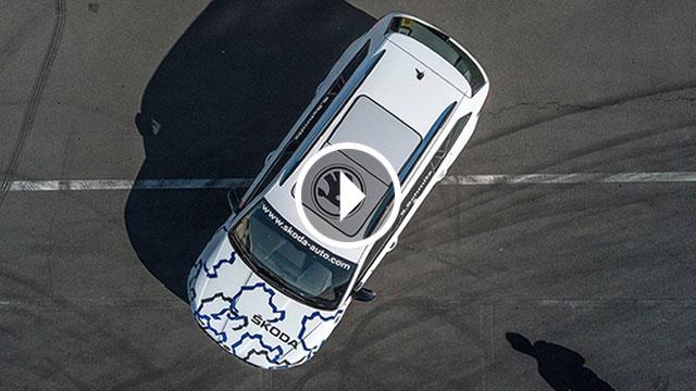 Škoda Kodiaq RS na Nürburgringu s kraljicom staze