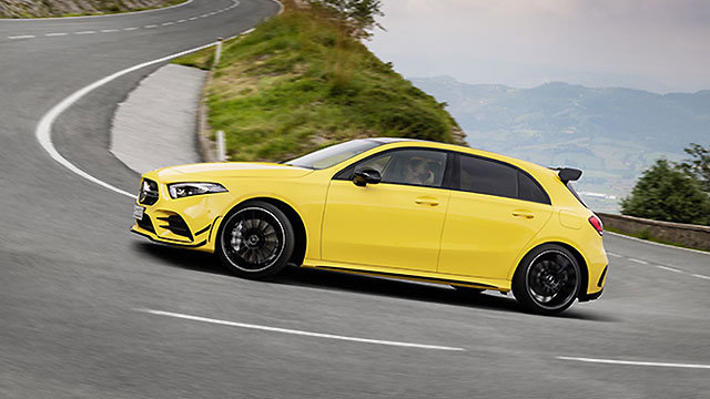 Potvrđeno – Mercedes-AMG A 45: Drift mode, 400+ KS…