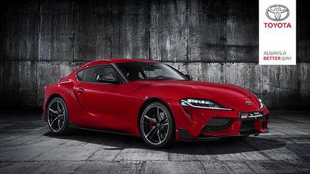 Toyota Supra – prve službene fotografije