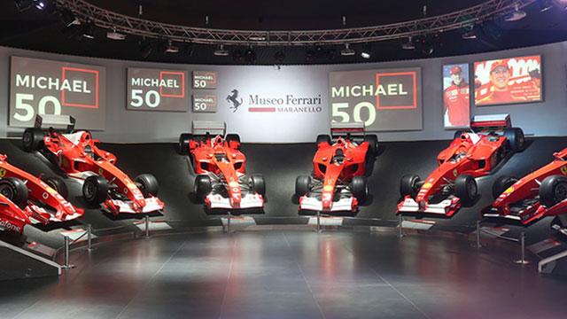 Ferrarijev muzej otvorio izložbu posvećenu Michaelu Schumacheru