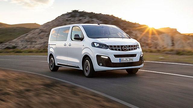 Opel Zafira Life – 9 sjedala i opcijski električni pogon