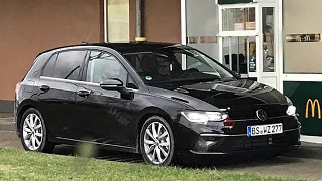 Ulovljen novi Volkswagen Golf?