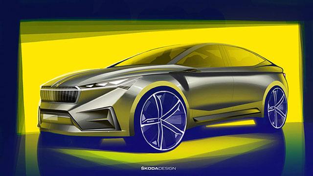 Škoda Vision iV – koncept električnog coupe crossovera
