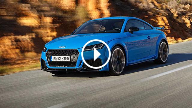 Audi osvježio TT RS Coupe i Roadster