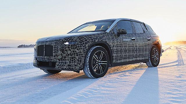 BMW testira iNext