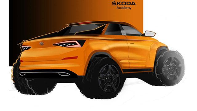 Škoda Kodiaq pickup – studentski koncept