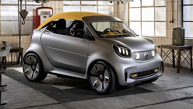 Smart Forease+ – najmanji ženevski kabriolet
