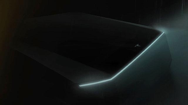 Tesla objavila novi teaser svog prvog pickupa