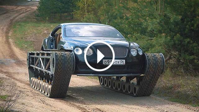 Bentley Continental GT s gusjenicama – najluksuzniji tenk na svijetu