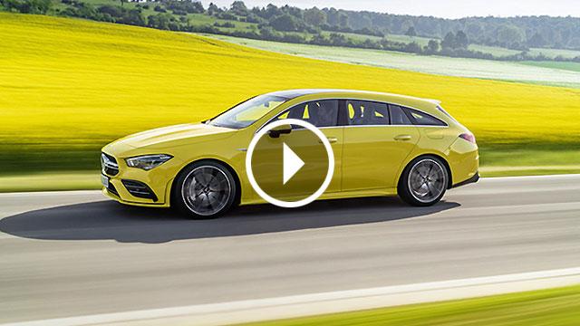 Mercedes-AMG CLA 35 Shooting Brake – praktično i brzo