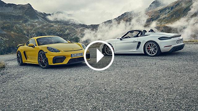 Porsche predstavio 718 Spyder i Cayman GT4 s atmosferskim 6-cilindričnim motorom