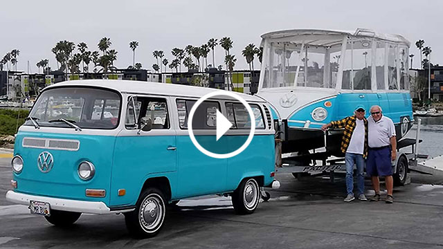 Odlična ljetna zabava – Volkswagen kombi kao čamac