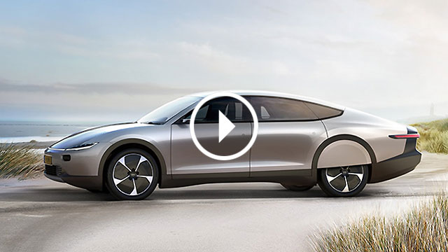 Lightyear One Prototype električni automobil kojeg puni Sunce