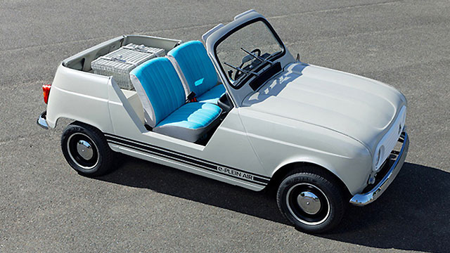 Renault e-Plein Air – retro ljetni gušti