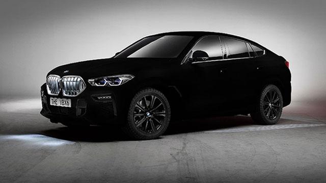 BMW X6 u Vantablack crnoj, najcrnjoj od svih crnih boja